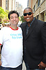 Shawn Brady and Sean Ringgold attending The One Life to Live.43rd Anniversary Block Party outside the ABC Studio on July 15, 2011 in New York City.