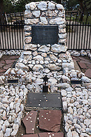 Buffalo Bill grave site at Lookout Mountain, Golden, Colorado, USA