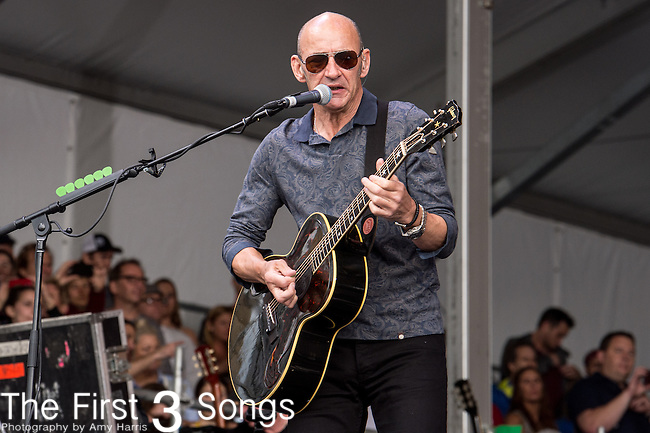 Simon Townshend of The Who performs during the 2015 New Orleans Jazz & Heritage Festival in New Orleans, Louisiana.