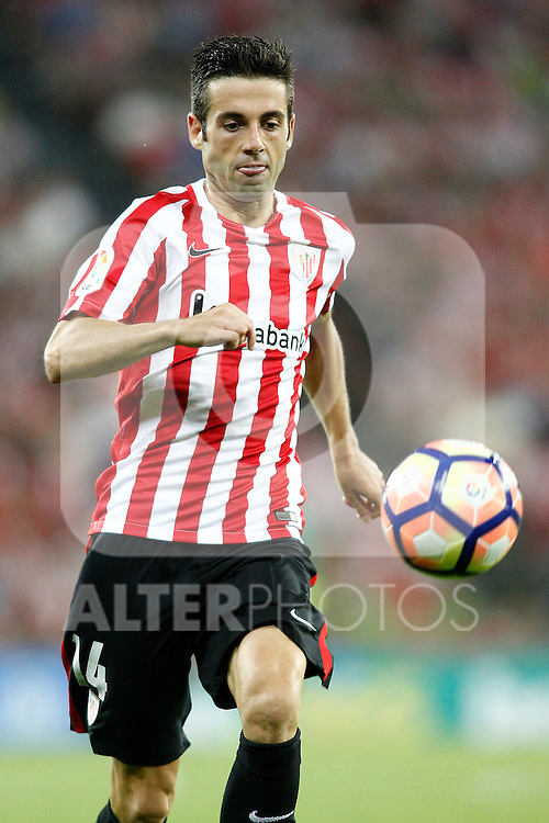 Athletic de Bilbao's Markel Susaeta during La Liga match. August 28,2016. (ALTERPHOTOS/Acero)