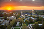 BJ 10.22.16 Campus Sunset 10606.JPG by Barbara Johnston/University of Notre Dame