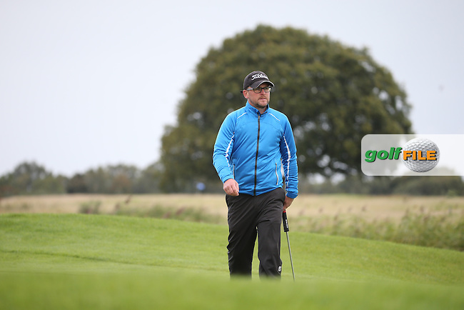David Barry / Glen Robinson during the final round of  The 106th Irish PGA Championship, at the Moy Valley Hotel & Golf Resort, Kildare, Ireland.  25/09/2016. Picture: David Lloyd   Golffile.