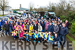 The large crowd that participated in the Castleisland Community College Vintage rally on Sunday