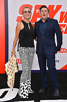 Sharon Stone &amp; Enzo Cursio at the world premiere for &quot;The Spy Who Dumped Me&quot; at the Fox Village Theatre, Los Angeles, USA 25 July 2018<br /> Picture: Paul Smith/Featureflash/SilverHub 0208 004 5359 sales@silverhubmedia.com