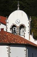 Europe/France/Aquitaine/64/Pyrénées-Atlantiques/Pays-Basque/Saint-Esteben: L'église Saint-Étienne date du XVII ème siècle.