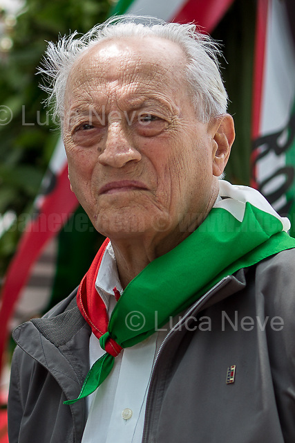 Modesto Di Veglia (Antifascist Partizan. Member of the Partigiani: the Italian Resistance during WWII).<br />