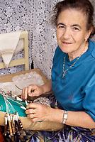 Xlendi, Gozo. - Lace Maker.
