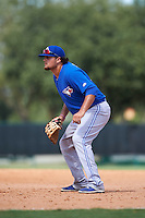 Toronto Blue Jays first baseman Rowdy Tellez during an instructional league game against the Atlanta Braves on September 30, 2015 at the ESPN Wide World of Sports Complex in Orlando, Florida.  (Mike Janes/Four Seam Images)