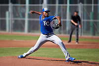 Kansas City Royals pitcher Miguel Almonte (50) during an instructional league game against the San Francisco Giants on October 22, 2015 at the Giants Baseball Complex in Scottsdale, Arizona.  (Mike Janes/Four Seam Images)