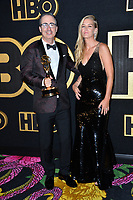 LOS ANGELES, CA. September 17, 2018: John Oliver &amp; Kate Norley at The HBO Emmy Party at the Pacific Design Centre.<br /> Picture: Paul Smith/Featureflash