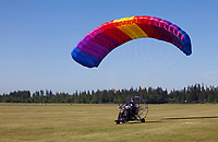 Powered Parachute, Arlington, WA, USA.