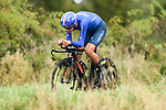 Antonio Tiberi of Italy in action during the Men Junior Individual Time Trial of the UCI World Championships 2019 running 27.6km from Harrogate to Harrogate, England. 23rd September 2019.<br /> Picture: Alex Broadway/SWPix.com | Cyclefile<br /> <br /> All photos usage must carry mandatory copyright credit (© Cyclefile | Alex Broadway/SWPix.com)