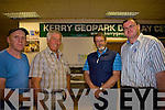 Directors of Kerry Geopark Ltd are L-R are Teddy McCarthy, Richard Tindale, Dr Michael Smith and Noel O'Shea