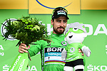 World Champion Peter Sagan (SVK) Bora-Hansgrohe wins Stage 13 and retains the Green Jersey his 3rd stage win of the 2018 Tour de France running 169.5km from Bourg d'Oisans to Valence, France. 20th July 2018. <br /> Picture: ASO/Alex Broadway | Cyclefile<br /> All photos usage must carry mandatory copyright credit (© Cyclefile | ASO/Alex Broadway)