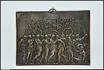 Piastra in metallo conservata al Museo d'Arte Antica di Palazzo Madama