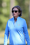 16 October 2016: UNC golf coach Jan Mann. The Final Round of the 2016 Ruth's Chris Tar Heel Invitational NCAA Women's Golf Tournament hosted by the University of North Carolina Tar Heels was held at the UNC Finley Golf Club in Chapel Hill, North Carolina.