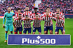Team photo of Atletico de Madrid during La Liga match between Atletico de Madrid and CD Leganes at Wanda Metropolitano Stadium in Madrid, Spain. January 26, 2020. (ALTERPHOTOS/A. Perez Meca)