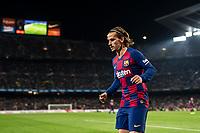29th October 2019; Camp Nou, Barcelona, Catalonia, Spain; La Liga Football, Barcelona versus Real Valladolid; Antoine Griezmann during La Liga match against Valladolid - Editorial Use
