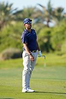 Pablo Larrazabal (ESP) on the 14th during the 1st round of the Abu Dhabi HSBC Championship, Abu Dhabi Golf Club, Abu Dhabi,  United Arab Emirates. 16/01/2020<br /> Picture: Fran Caffrey | Golffile<br /> <br /> <br /> All photo usage must carry mandatory copyright credit (© Golffile | Fran Caffrey)