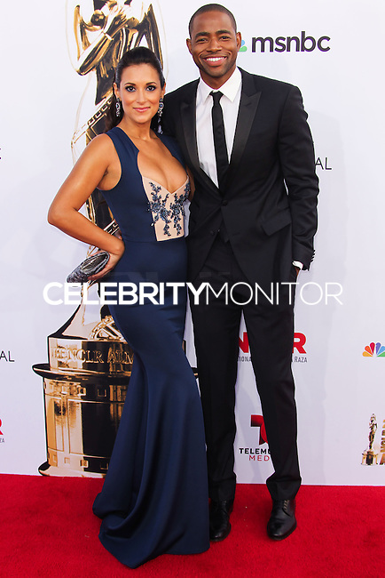 PASADENA, CA, USA - OCTOBER 10: Angelique Cabral, Jay Ellis arrive at the 2014 NCLR ALMA Awards held at the Pasadena Civic Auditorium on October 10, 2014 in Pasadena, California, United States. (Photo by Celebrity Monitor)
