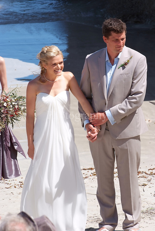 Wedding ceremony Pennington Bay kangaroo Island a stunning wedding on such a great day