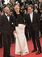 Uma Thurman at the premiere for &quot;Loveless&quot; at the 70th Festival de Cannes, Cannes, France. 18 May  2017<br /> Picture: Paul Smith/Featureflash/SilverHub 0208 004 5359 sales@silverhubmedia.com
