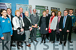 Mercy Mounthawk Proclamation Day on Tuesday. Pictured l-r Jasmine Ryall, deputy principal Pat Fleming, Sr Bernadette, Crll Jim Finucane, artist Margaret Cunningham, Principal John O'Rourke, Jean Foley, KCC, John Ferguson , Parents Council, Kathy Williams, Parents Council, Deirdre Carr, Parents Council, Roger Harty, Board of Management and Andrew Barry
