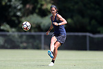 CARY, NC - JUNE 29: Abby Erceg. The North Carolina Courage held a training session on June 29, 2017, at WakeMed Soccer Park Field 6 in Cary, NC.