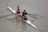 Crew: 425  MAA-BROWN  Mortlake Anglian &amp; Alpha Boat Club  W MasC 2x Club<br /> <br /> Pairs Head 2018<br /> <br /> To purchase this photo, or to see pricing information for Prints and Downloads, click the blue 'Add to Cart' button at the top-right of the page.