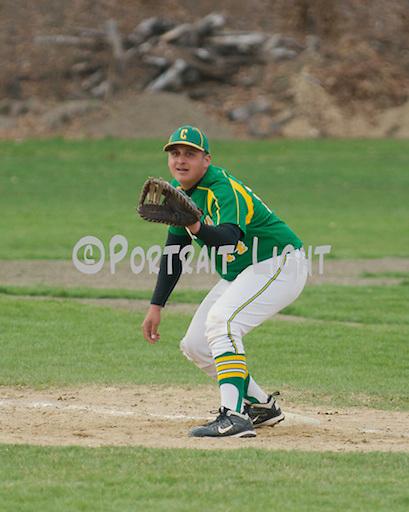 CHS sophomore first baseman Frankie Matos.