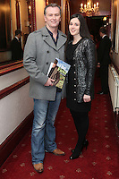 "NO REPRO FEE. 17/1/2010. The Field opening night. Daithi O Shea and Rita Talty are pictured at the Olympia Theatre for the opening night of John B Keanes 'The Field"" Picture James Horan/Collins"