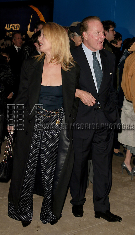 Kathie Lee Gifford and Frank Gifford<br /> Attending the Opening Night performance of <br /> FIDDLER ON THE ROOF at the Minskoff Theatre in <br /> New York City.<br /> February 26, 2004