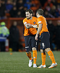 Paul Paton comes on for Dundee Utd