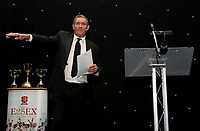 Graham Gooch runs the evenings auction during the Essex CCC 2017 Awards Evening at The Cloudfm County Ground on 5th October 2017