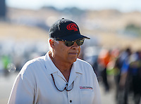 Jul 29, 2016; Sonoma, CA, USA; NHRA former driver Don Prudhomme during qualifying for the Sonoma Nationals at Sonoma Raceway. Mandatory Credit: Mark J. Rebilas-USA TODAY Sports