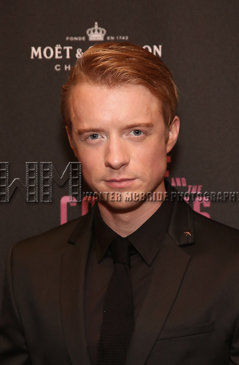 Matthew James Thomas attends the Broadway Opening Night After Party for The Roundabout Theatre Company production of 'Time and The Conways'  on October 10, 2017 at the American Airlines Theatre in New York City.