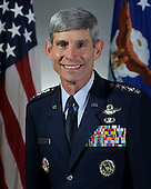General Norton A. Schwartz, Chief of Staff, United States Air Force, Washington, D.C. As Chief, he serves as the senior uniformed Air Force officer responsible for the organization, training and equipping of nearly 700,000 active-duty, Guard, Reserve and civilian forces serving in the United States and overseas. As a member of the Joint Chiefs of Staff, the general and other service chiefs function as military advisers to the Secretary of Defense, National Security Council and the President.  General Schwartz graduated from the U.S. Air Force Academy in 1973. He is an alumnus of the National War College, a member of the Council on Foreign Relations and a 1994 Fellow of Massachusetts Institute of Technology's Seminar XXI. He has served as Commander of the Special Operations Command-Pacific, as well as Alaskan Command, Alaskan North American Aerospace Defense Command Region and the 11th Air Force. Prior to assuming his current position, General Schwartz was Commander, U.S. Transportation Command and served as the single manager for global air, land and sea transportation for the Department of Defense. .General Schwartz is a command pilot with more than 4,400 flying hours in a variety of aircraft. He participated as a crewmember in the 1975 airlift evacuation of Saigon, and in 1991 served as Chief of Staff of the Joint Special Operations Task Force for Northern Iraq in operations Desert Shield and Desert Storm. In 1997, he led the Joint Task Force that prepared for the noncombatant evacuation of U.S. citizens in Cambodia. .Credit: DoD via CNP