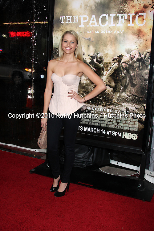 """Teresa Palmer .arriving at HBO's """"The Pacific"""" Premiere Screening .Mann's Chinese Theater.Los Angeles, CA.February 24, 2010.©2010 Kathy Hutchins / Hutchins Photo...."""