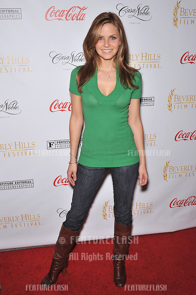 Nikki Griffin at the opening of the Beverly Hills Film Festival at the Clarity Theatre, Beverly Hills..April 1, 2009  Beverly HIlls, CA.Picture: Paul Smith / Featureflash