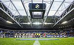 Solna 2015-07-12 Fotboll Allsvenskan AIK - GIF Sundsvall :  <br /> Vy &ouml;ver Tele2 Arena under lineup inf&ouml;r matchen mellan AIK och GIF Sundsvall <br /> (Foto: Kenta J&ouml;nsson) Nyckelord:  AIK Gnaget Friends Arena Allsvenskan GIF Sundsvall Giffarna inomhus interi&ouml;r interior supporter fans publik supporters