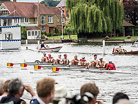 Henley Royal Regatta, Henley on Thames, Oxfordshire, 28 June - 2 July 2017.  Wednesday  16:12:39   28/06/2017  [Mandatory Credit/Intersport Images]<br /> <br /> Rowing, Henley Reach, Henley Royal Regatta.<br /> <br /> The Thames Challenge Cup<br /> The Tideway Scullers' School