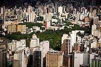 Belo Horizonte_MG, Brasil...Imagem aerea de um bairro em Belo Horizonte...Aerial view of neighborhood in Belo Horizonte...Foto: BRUNO MAGALHAES / NITRO