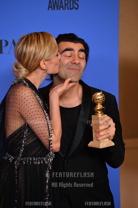 Diane Kruger &amp; Fatih Akin at the 75th Annual Golden Globe Awards at the Beverly Hilton Hotel, Beverly Hills, USA 07 Jan. 2018<br /> Picture: Paul Smith/Featureflash/SilverHub 0208 004 5359 sales@silverhubmedia.com