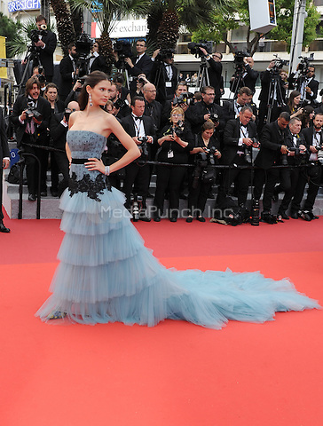 Bianca Balti at &quot;Cafe Society&quot; &amp; Opening Gala arrivals - The 69th Annual Cannes Film Festival, France on May 11, 2016.<br /> CAP/LAF<br /> &copy;Lafitte/Capital Pictures /MediaPunch ***NORTH AND SOUTH AMERICAN SALES ONLY***