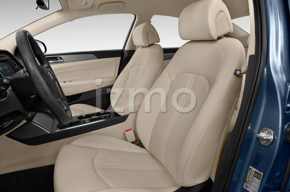 Front seat view of 2017 Hyundai Sonata Eco 4 Door Sedan Front Seat  car photos