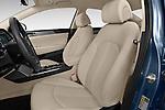 Front seat view of 2016 Hyundai Sonata Eco 4 Door Sedan Front Seat  car photos