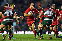 Schalk Burger of Saracens. Gallagher Premiership match, between Leicester Tigers and Saracens on November 25, 2018 at Welford Road in Leicester, England. Photo by: Patrick Khachfe / JMP