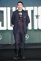 "Ezra Miller<br /> at the ""Justice League"" photocall,  London<br /> <br /> <br /> ©Ash Knotek  D3345  04/11/2017"