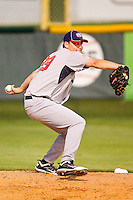 Matt Boyd #29 (Oregon State) of the USA Baseball Collegiate National Team warms up in the bullpen during the game against the Gastonia Grizzlies at Sims Legion Park on June 30, 2011 in Gastonia, North Carolina.  Team USA defeated the Grizzlies 12-5.  Brian Westerholt / Four Seam Images