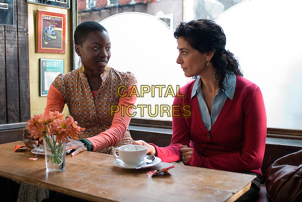 DANAI GURIRA & HIAM ABBASS.in The Visitor.*Filmstill - Editorial Use Only*.CAP/AW.Supplied by Capital Pictures.